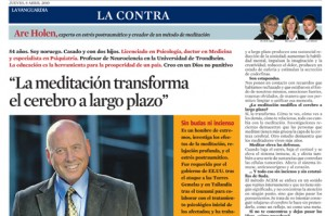 Are Holen in La Vanguardia