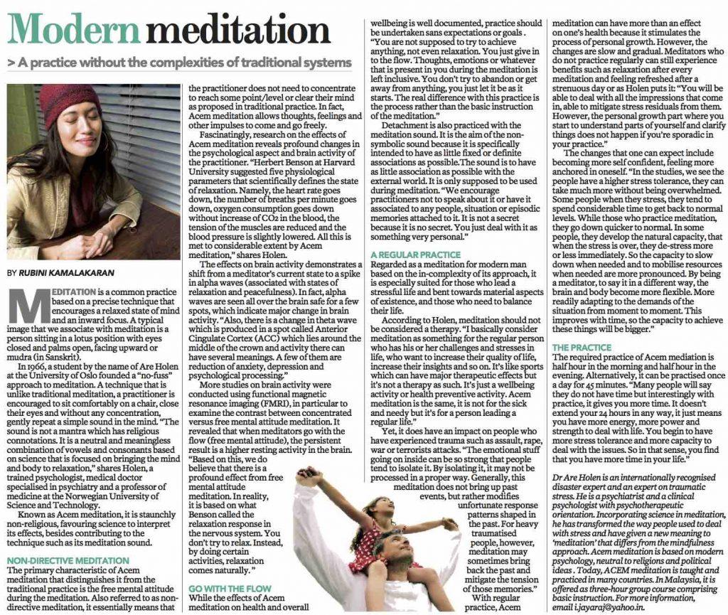 The Sun Modern Meditation