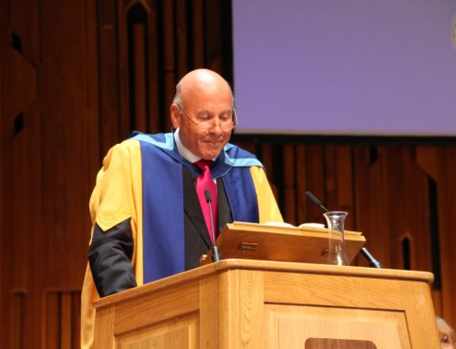 Are Holen appointed honorary doctor of The Open University